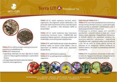TERRA LIT A+  Βελτιωτικό εδάφους